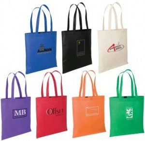 custom printed t-shirt shopping bags wholesale